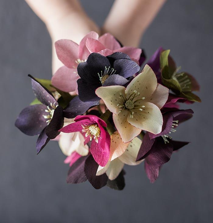Восхитительные цветочные композиции из бумаги от Кейт Аларкон