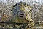 Деревянный макет ракетоплана Буран на фото Александра Маркина