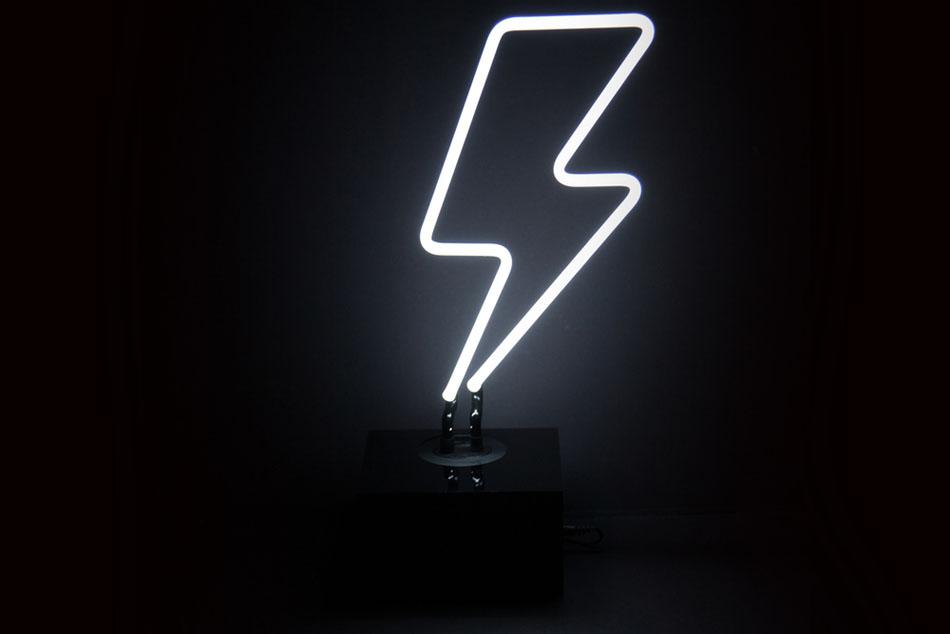 Neon lights - photo developments of the company Neon Mfg