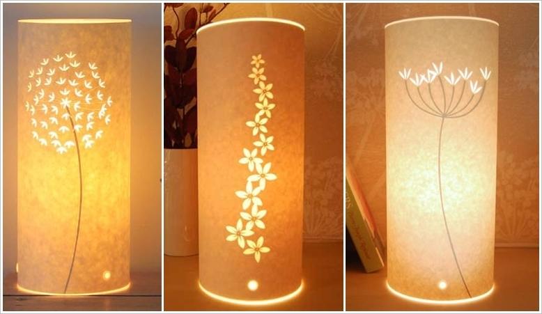 Стильный светильник из бумаги своими руками