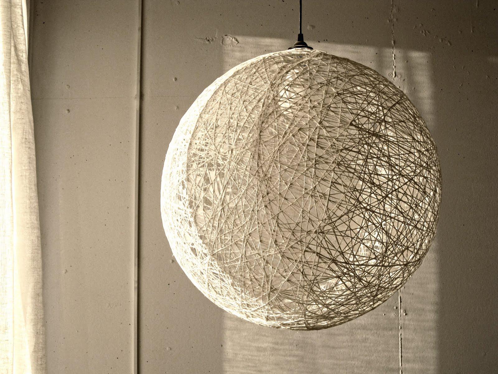 Лампа дома своими руками