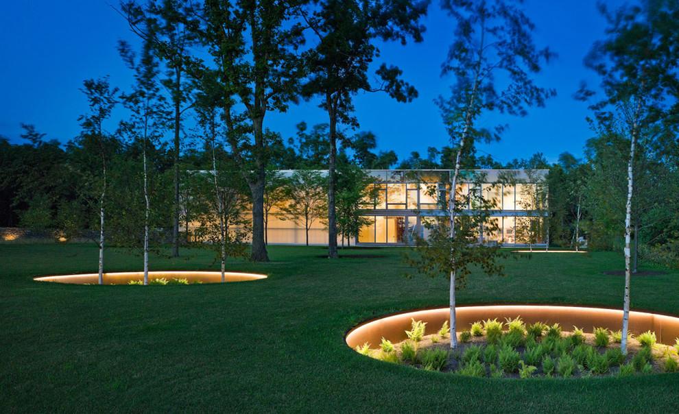 Шикарное светодиодное освещение сада