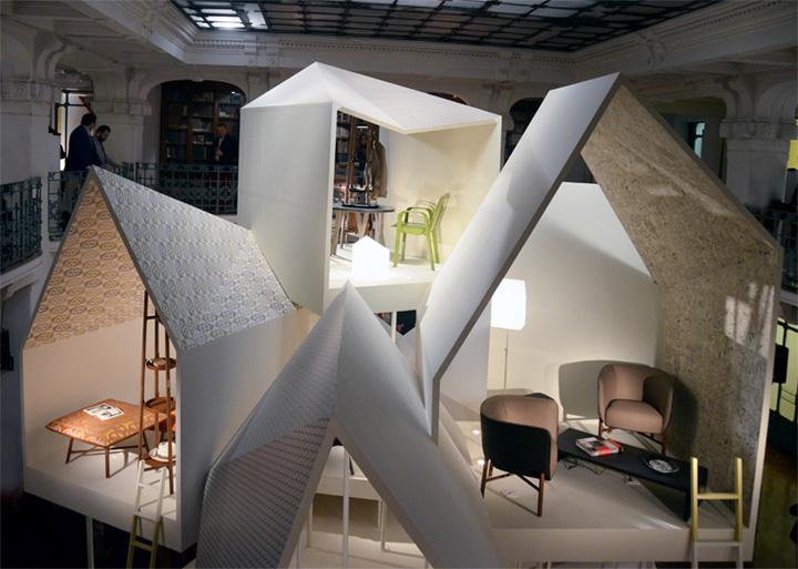 Уникальный павильон из коллекции Les Necessaires d'Hermès с предметами интерьера