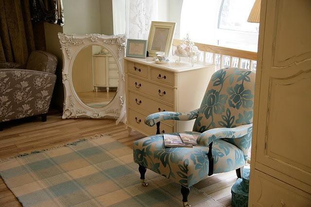 Интерьер гардеробной в английском стиле