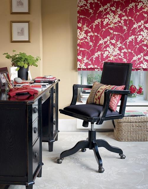 Интерьер кабинета в английском стиле