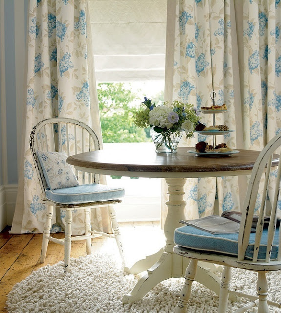 Интерьер столовой в английском стиле
