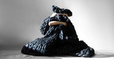 Трикотаж крупной вязки от украинского дизайнера Анны Мо