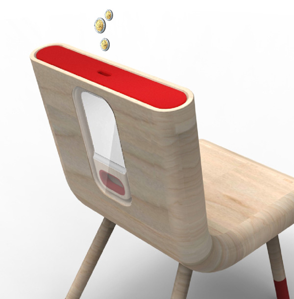 Photo of a modern chair by Pedro Gomez