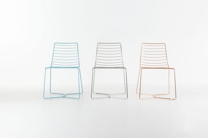 Металлические стулья Antia