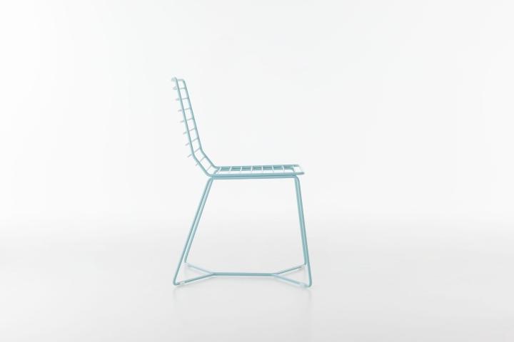 Восхитительный металлический стул Antia