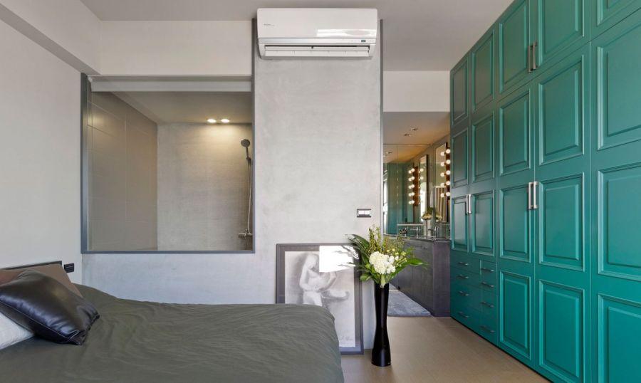 Дизайн интерьера спальни в стиле эклектического минимализма