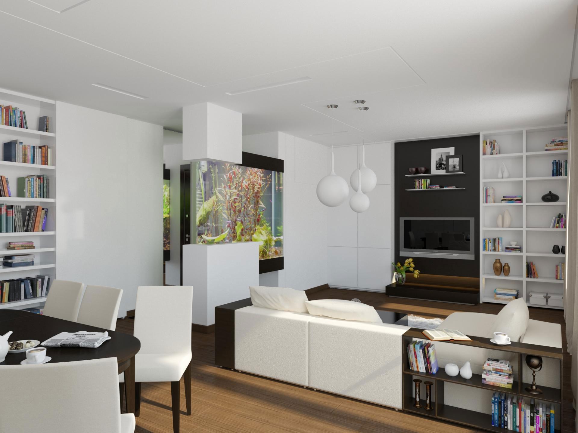 Оформление интерьера квартиры в стиле минимализм