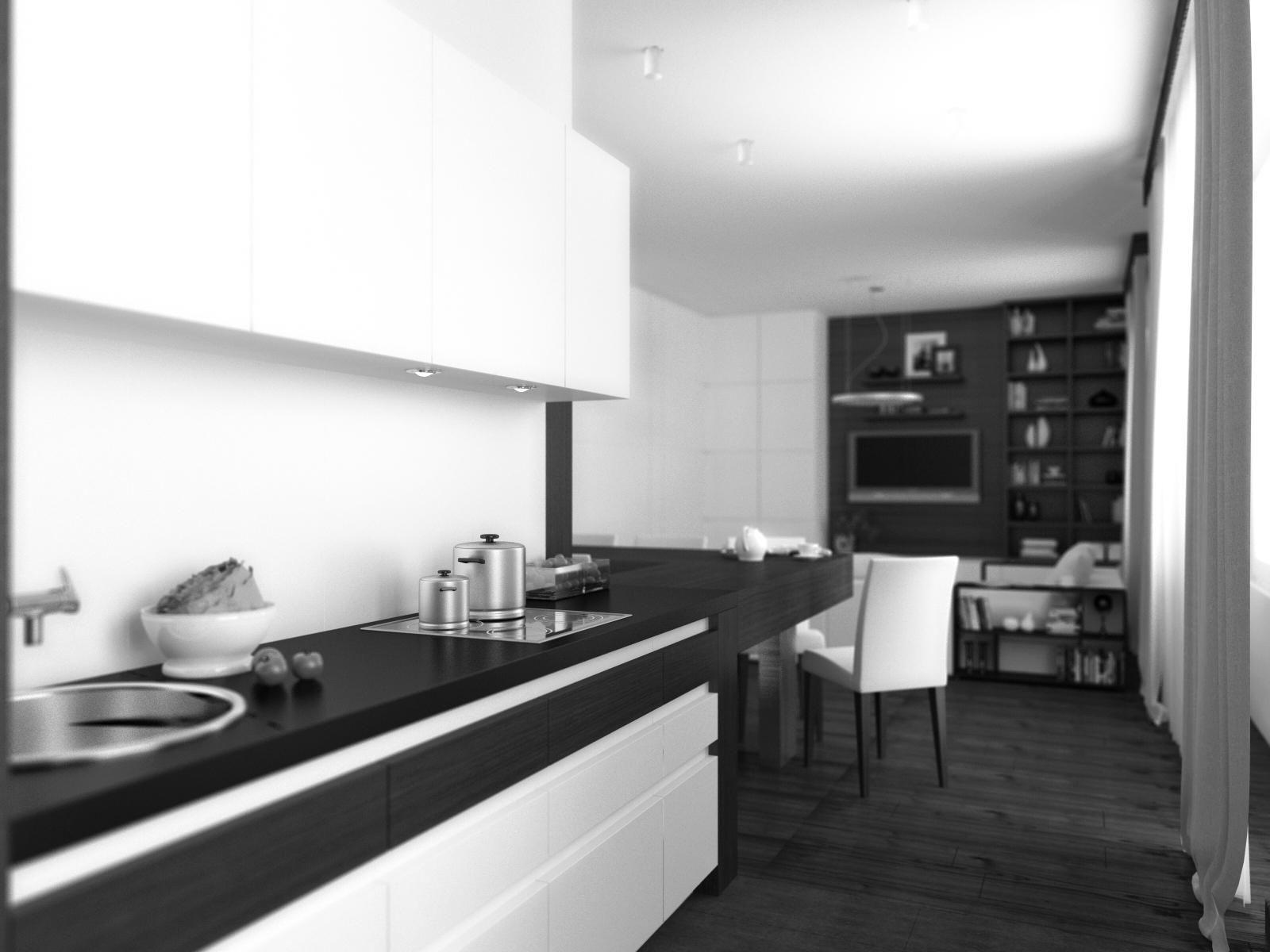 Удивительное оформление интерьера квартиры в стиле минимализм