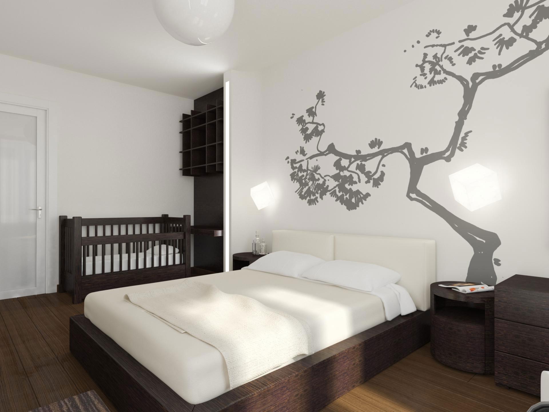 Яркое оформление интерьера квартиры в стиле минимализм