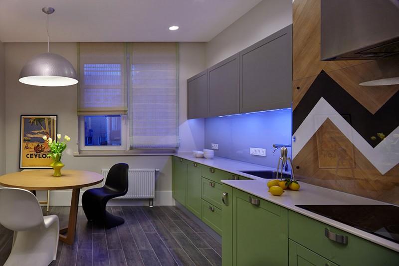 Кухня роскошных апартаментов в Киеве