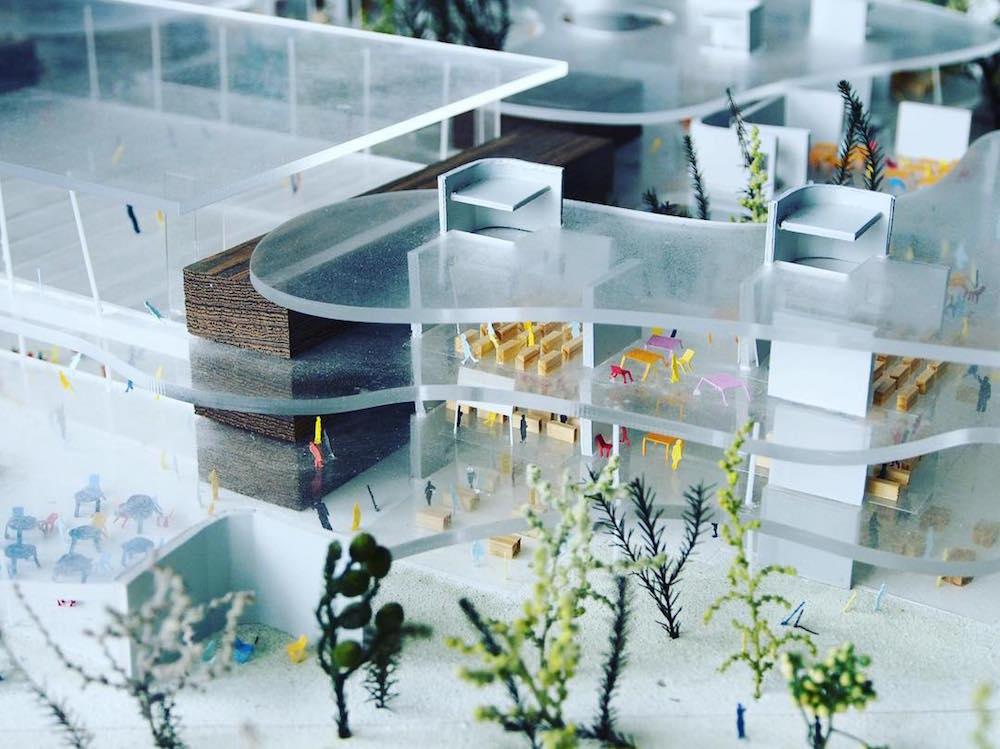 Миниатюрные архитектурные макеты в экспозиции уникального музея Archi-Depot в Японии