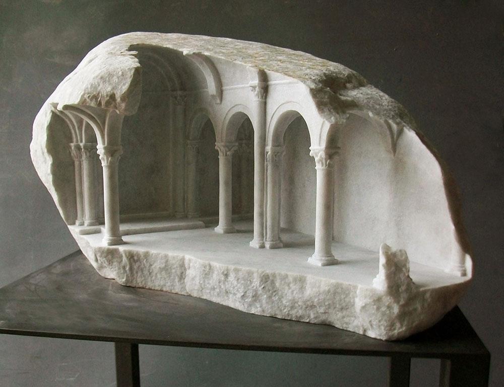 Уникальная резка из камня от Matthew Simmonds