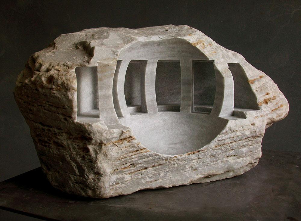 Восхитительная резка из камня от Matthew Simmonds