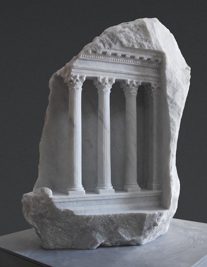 Умопомрачительная резка из камня от Matthew Simmonds