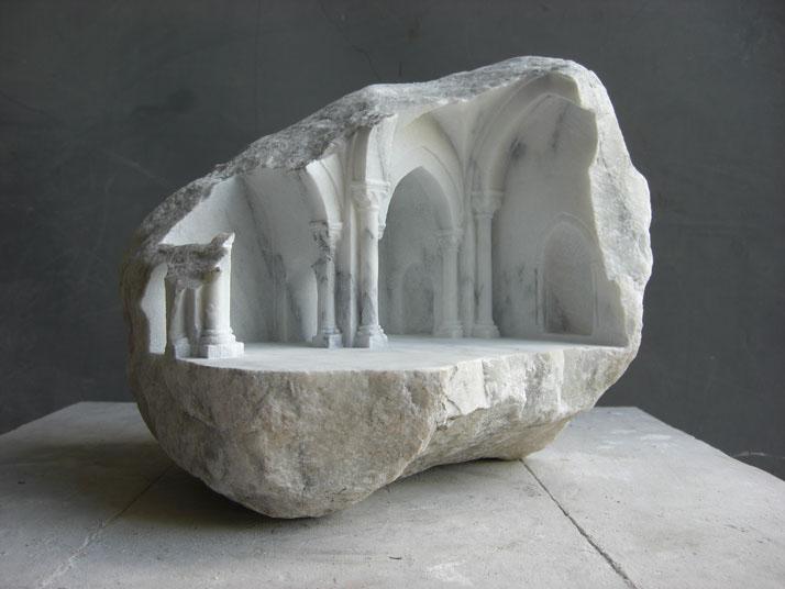 Креативная резка из камня от Matthew Simmonds