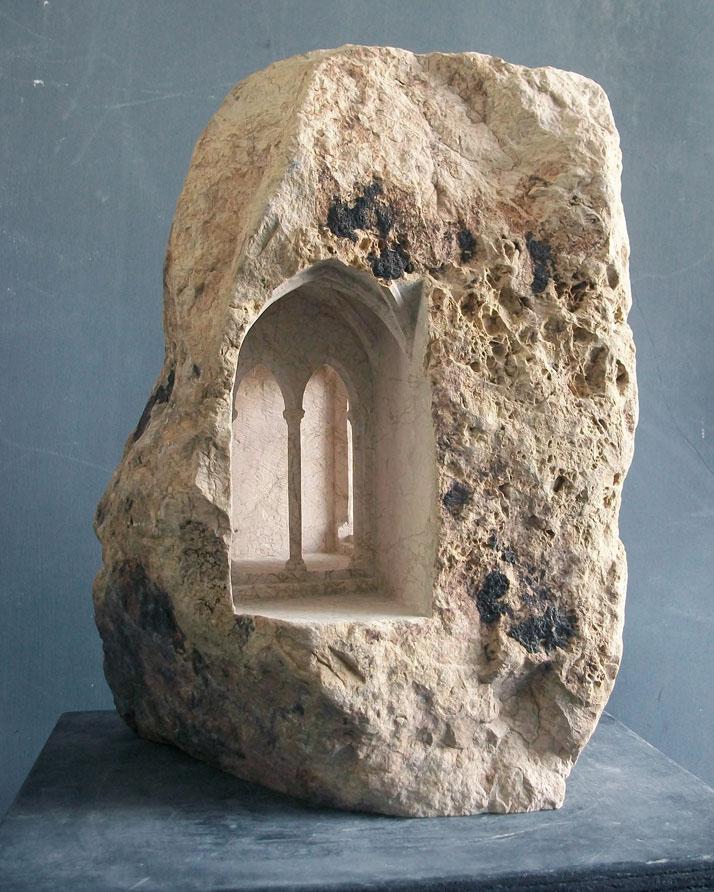 Оригинальная резка из камня от Matthew Simmonds