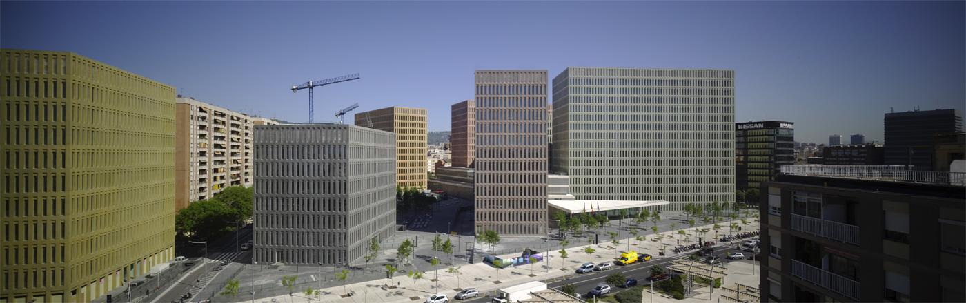 Город юстиций, Барселона, 2002-2011. Фото 1