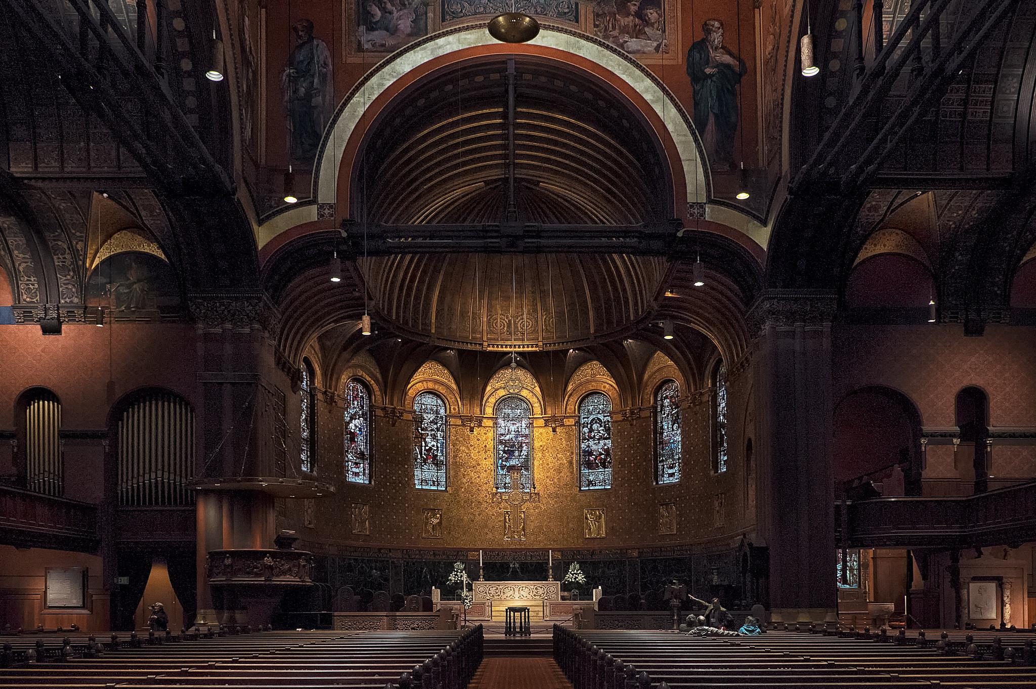 Церковь архитектора Генри Гобсона Ричардсона