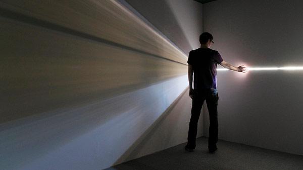 Необычная световая инсталляция от Chris Fraser