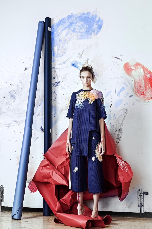 Богемная одежда для художниц от творческого дуэта Глаголевой–Лизы Смирновой