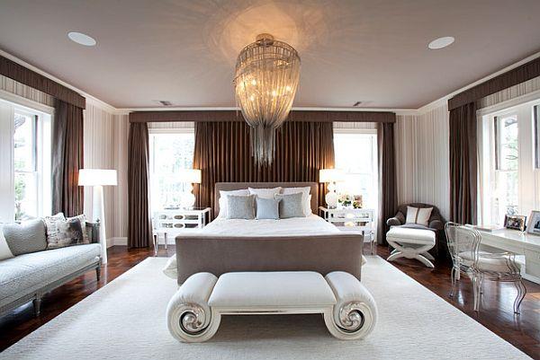 Дизайн роскошной арт-деко спальни