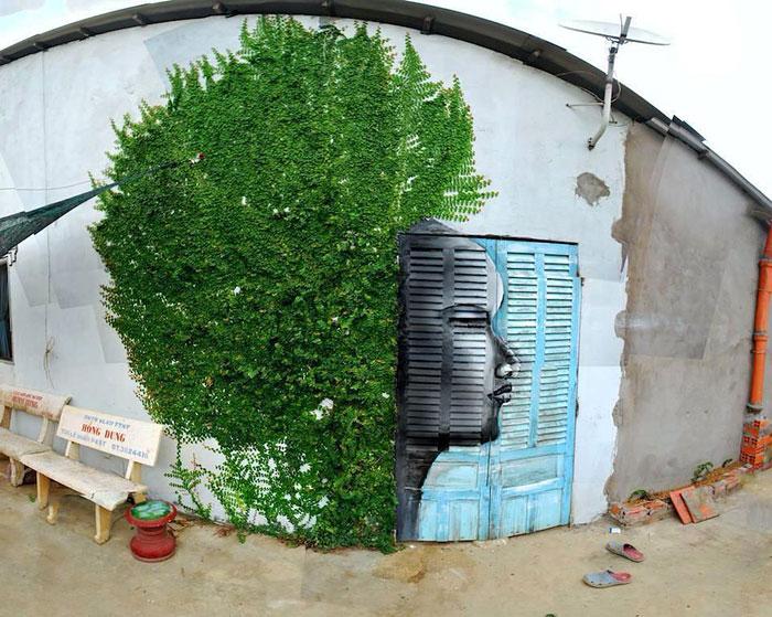 Рисунок в стиле стрит-арт