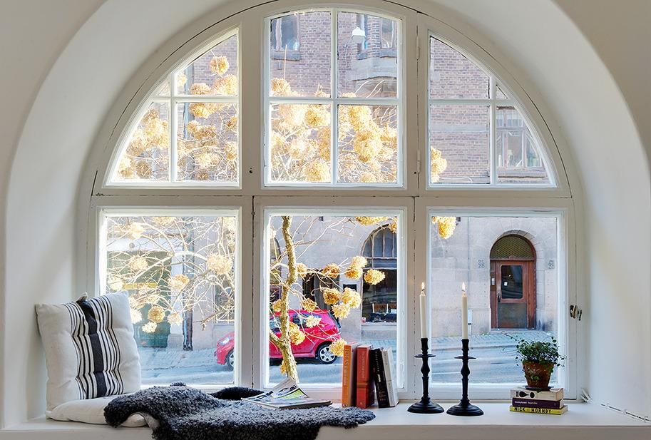 ведь красивые окна в домах фото корова