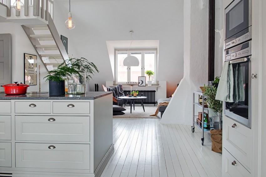 Чудесный дизайн интерьера кухни