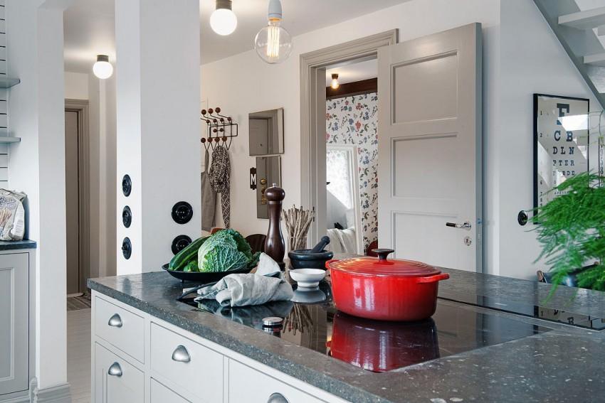 Великолепный дизайн интерьера кухни