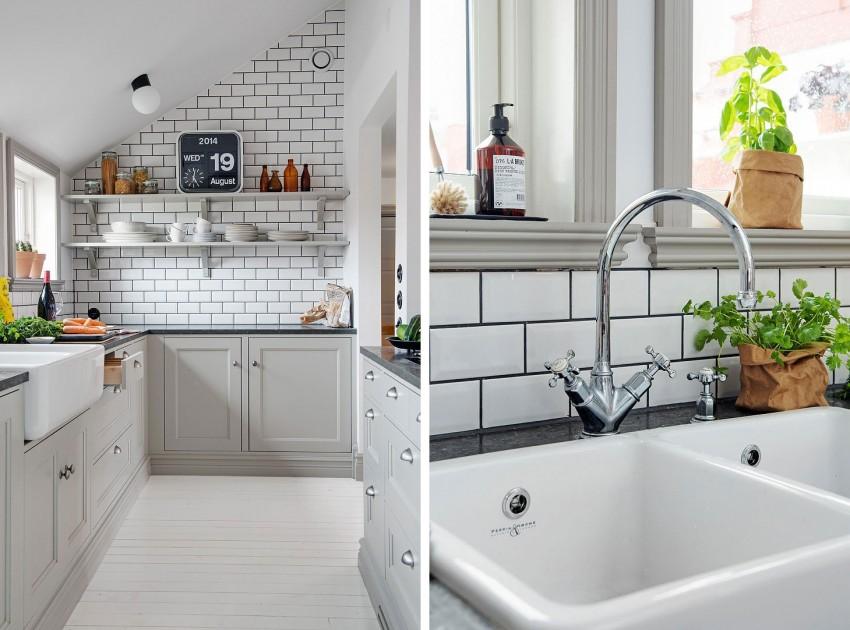 Шикарный дизайн интерьера кухни