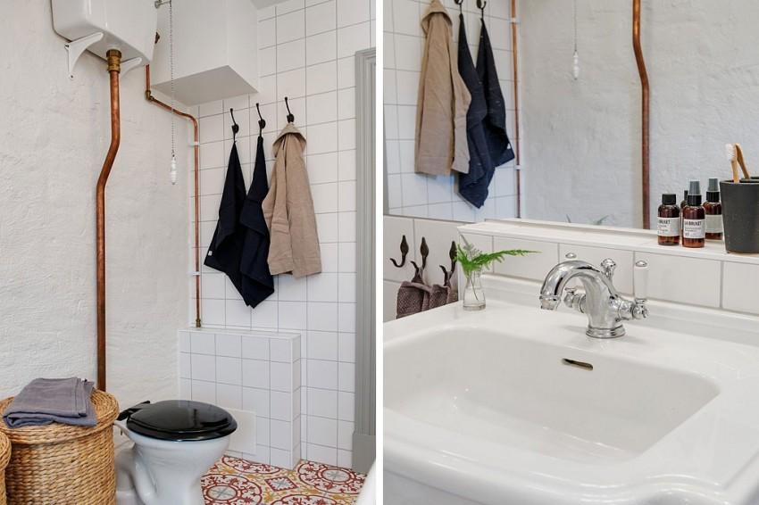 Сантехника в интерьере ванной