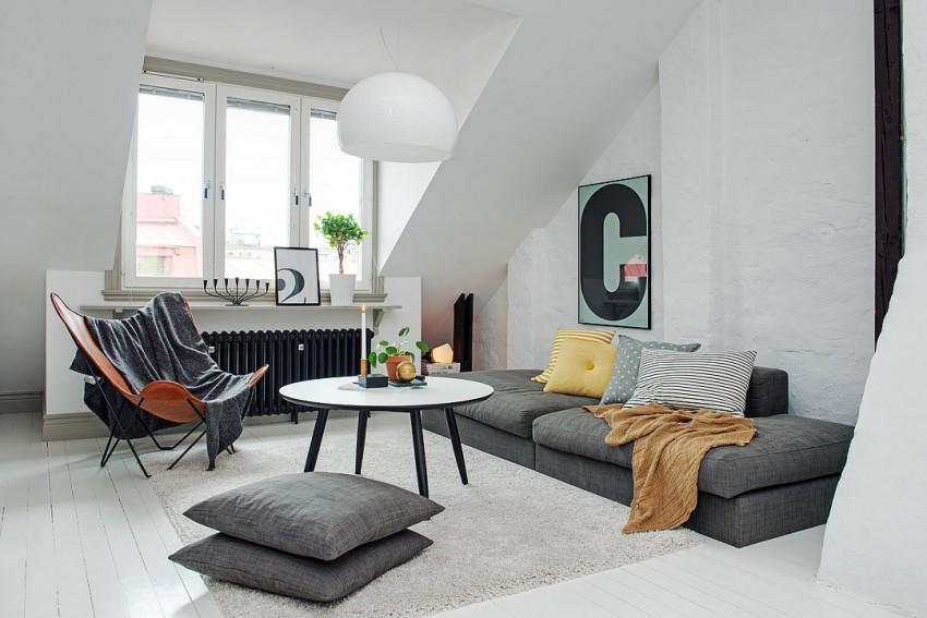 Красивый дизайн интерьера резиденции