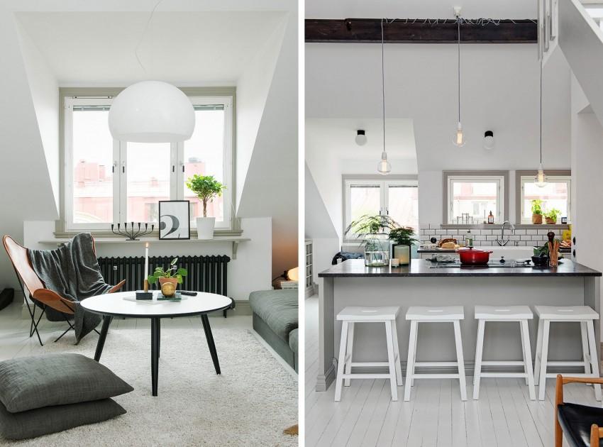 Прекрасный дизайн интерьера резиденции