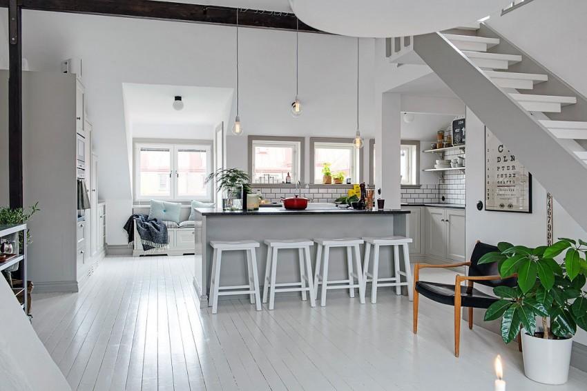 Восхитительный дизайн интерьера кухни