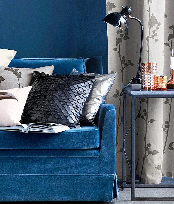 Чешуйчатый чехол на декоративной подушке