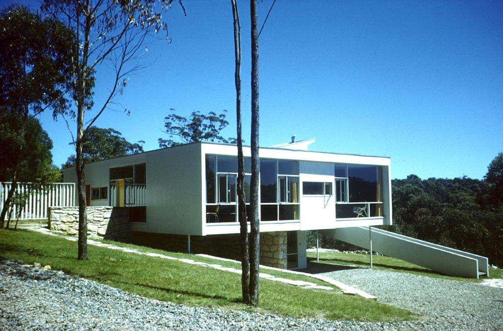 Rose Seidler House в стиле модернизма австралийского дизайнера Гарри Сайдлера