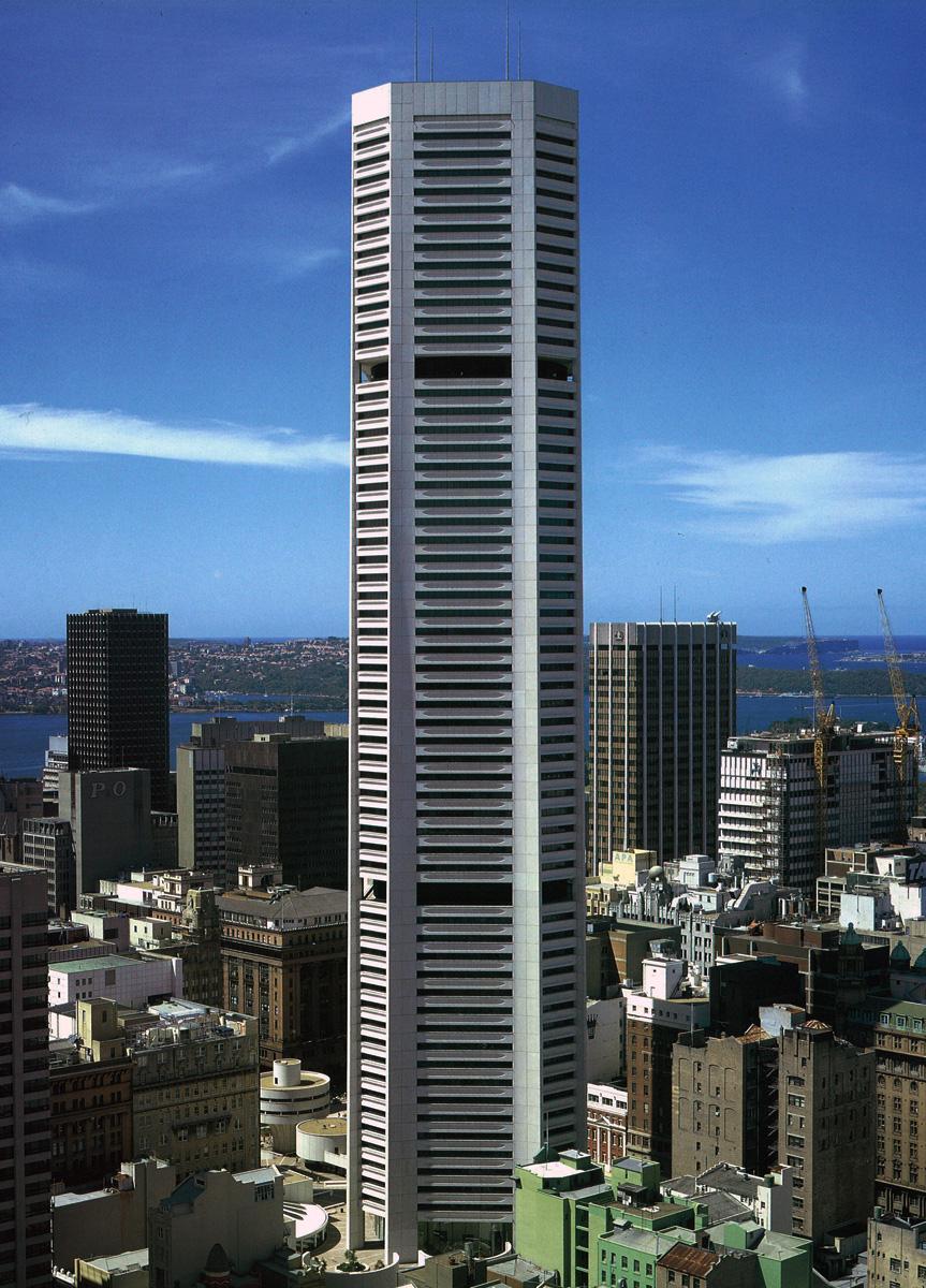 Небоскреб, спроектированный австралийским дизайнером Гарри Сайдлером