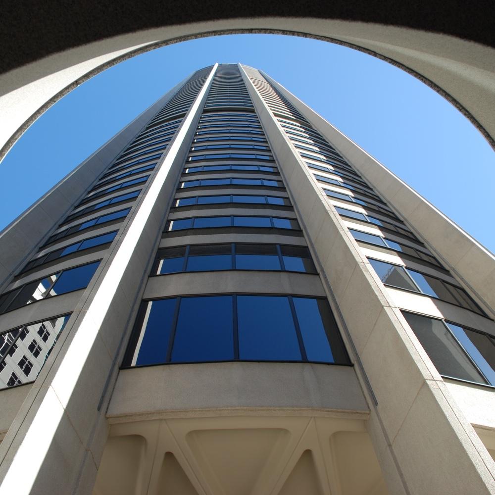 Australia Square, спроектированный австралийским дизайнером Гарри Сайдлером