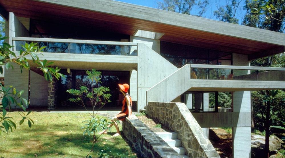Дом по проекту австралийского дизайнера Гарри Сайдлера в стиле модернизма