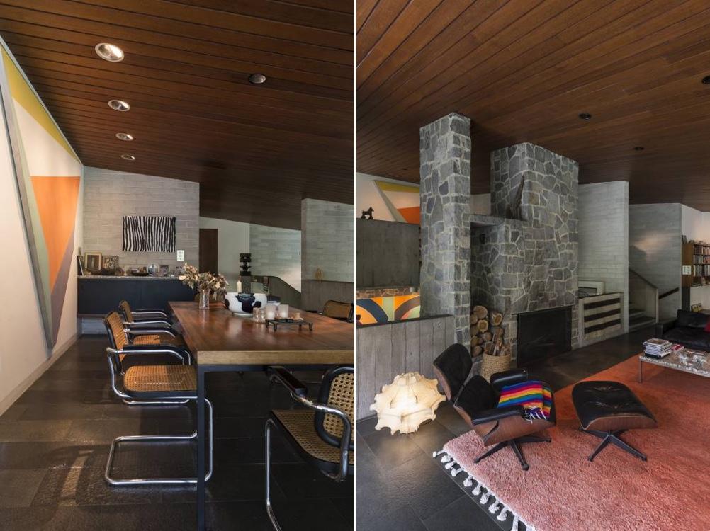 Деревянная отделка интерьера дома по проекту Гарри Сайдлера