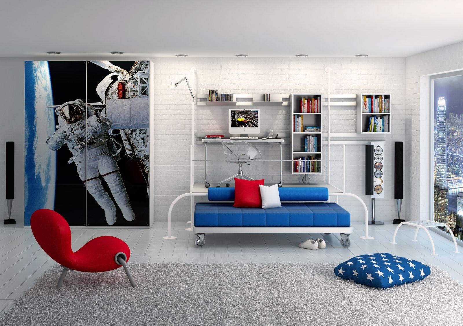Original prints and posters in interior design are examples of successful interior decoration.