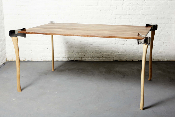 Оригинальные столы своими руками фото