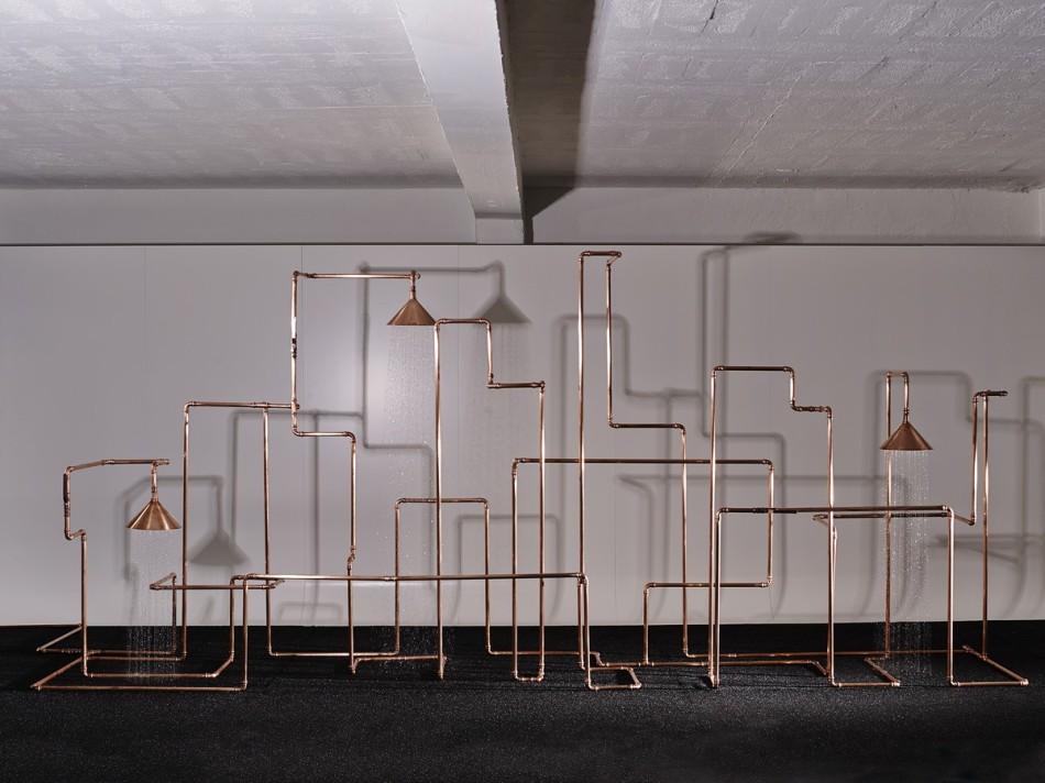 Ducha inusual de diseñadores talentosos de Front Design Studio