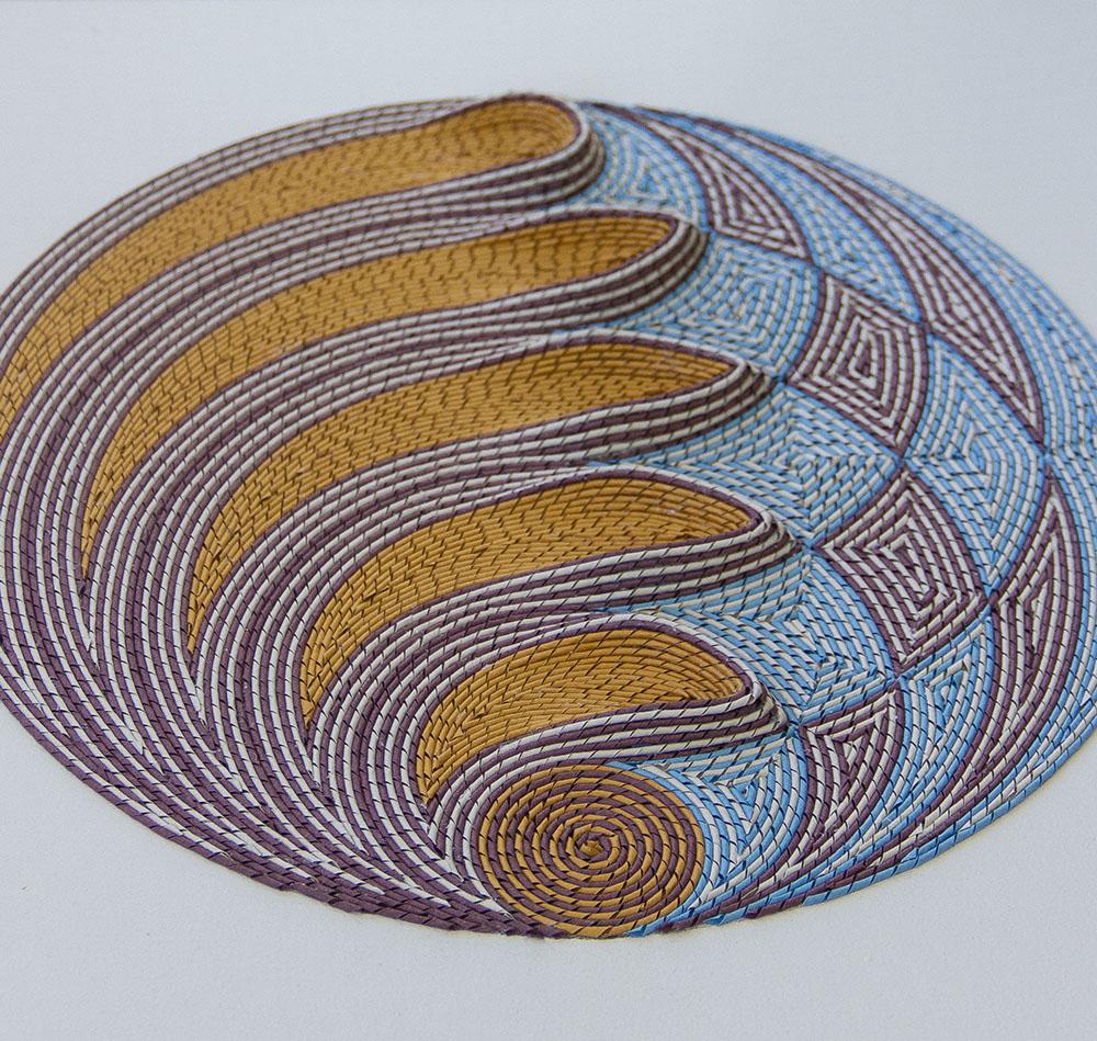 Гюнжан Айлавади: трёхмерные бумажные гобелены в арабском стиле