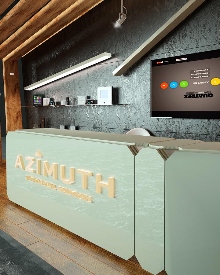 Мебель и великолепные осветительные приборы сделаны в минималистском стиле